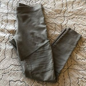 Express grey ribbed  jeggings size M